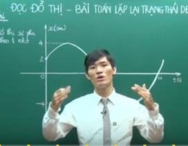 Giải nhanh bài toán đồ thị và lặp dao động Vật lí trong 75 giây