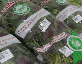 Dùng Zalo truy xuất nguồn gốc rau quả