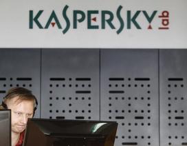 """Phần mềm Kaspersky bị """"cấm vận"""" ở Mỹ"""