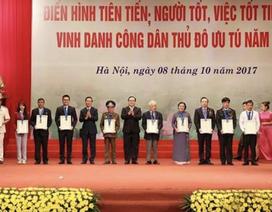 """Phó Giáo sư trẻ nhất Việt Nam được vinh danh """"Công dân Thủ đô ưu tú"""""""