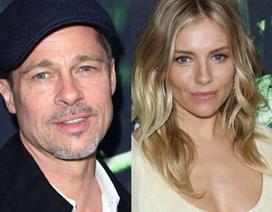 Sienna Miller bật cười khi được hỏi về chuyện hò hẹn với Brad Pitt