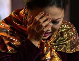 Siu Black ôm mặt bật khóc trên sóng truyền hình vì sợ mất con