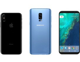 Những smartphone cao cấp được trông đợi nhất trong nửa cuối năm 2017