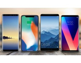 10 smartphone cao cấp đáng chú ý nhất năm 2017