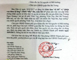 """Khó làm """"sổ đỏ"""" vì """"phép vua thua lệ làng"""": Chủ tịch Hà Nội chỉ đạo xử lý dứt điểm!"""