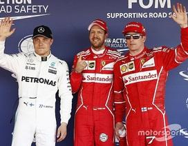 Vettel xuất sắc có pole tại Sochi