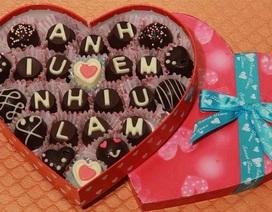 Tuyệt chiêu làm socola Valentine tại nhà cực đơn giản