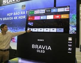 Sony trình làng dòng TV 4K HDR mới nhất tại Việt Nam