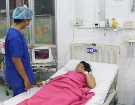 Nhau bong non khi đang điều trị dọa sinh non tại bệnh viện