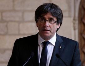 Cựu Thủ hiến Catalonia sẽ không quay về hầu tòa Tây Ban Nha