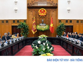 Sớm đưa kim ngạch thương mại Việt Nam - Sri Lanka lên 1 tỷ USD