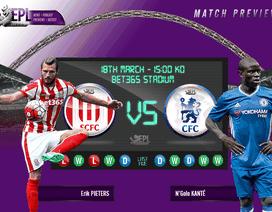 Stoke - Chelsea: Có cản được Chelsea?