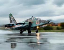 Mỹ: Nga bổ sung Su-25 tới Syria dù tuyên bố giảm hiện diện quân sự