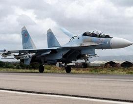 """Dàn máy bay chiến đấu của Nga """"làm mưa làm gió"""" trên chiến trường Syria"""