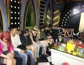 Đột kích quán karaoke, phát hiện 20 đối tượng sử dụng ma túy