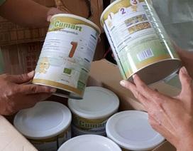 Thu giữ hơn 720 hộp sữa bột trẻ em hết hạn đang trên đường vào TP.HCM tiêu thụ