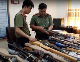 Triệt phá đường dây mua bán linh kiện súng tự chế từ Nam ra Bắc