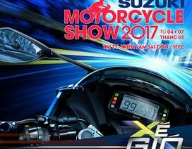 """""""Xé gió"""" cùng Suzuki tại Triển lãm môtô, xe máy Việt Nam 2017"""