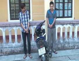 Sinh viên nghiện ma túy dùng xe máy đi cướp giật dây chuyền