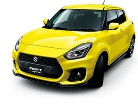 Suzuki Swift Sport thế hệ mới chuẩn bị ra mắt