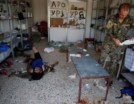 """Bên trong bệnh viện dã chiến ở """"chảo lửa"""" Syria"""