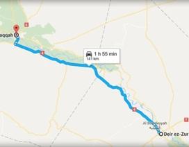 Không quân Syria phá hủy đoàn xe quân sự của IS ở Deir Ezzor