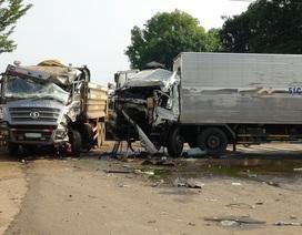 Tránh 2 bà cháu, xe tải gây tai nạn khiến 3 người bị thương