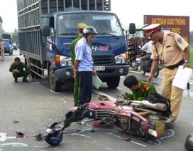Tháng 3/2017 có 557 người chết trong các vụ tai nạn giao thông, cháy nổ