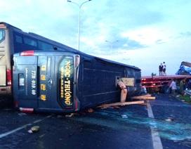 Kiểm tra đồng loạt xe khách sau vụ tai nạn liên hoàn trên cao tốc