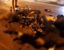 Hà Nội: Hai xe máy đối đầu kinh hoàng, 3 người thương vong