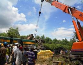 Vụ tàu hỏa tông nát xe tải: Barie không đóng khi tàu đi qua