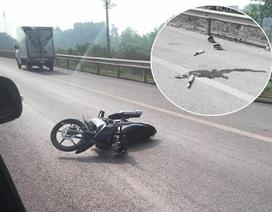 Xác định danh tính người đi xe máy đâm CSGT tử vong trên cao tốc