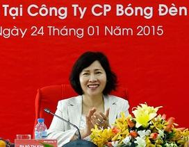 Nhà nước thoái sạch vốn, gia đình Thứ trưởng Thoa nắm bao nhiêu cổ phần Điện Quang?