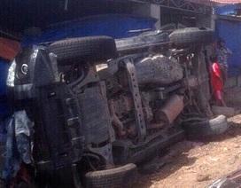 Xe chở cán bộ công an TPHCM gặp nạn, một Trung tá tử vong
