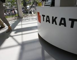 """Doanh nghiệp Trung Quốc thâu tóm hãng túi khí """"bê bối"""" Takata"""