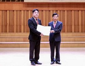 Chính thức bổ nhiệm Giám đốc Học viện Âm nhạc Quốc gia Việt Nam
