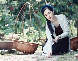 """Hot girl Hà Min """"hóa thân"""" ấn tượng thành cô Tấm yêu kiều"""