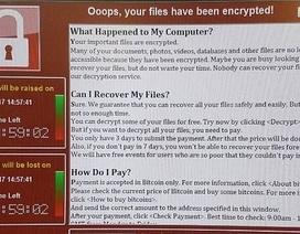 Tấn công mạng tại 99 quốc gia, 75.000 máy tính bị nhiễm mã độc