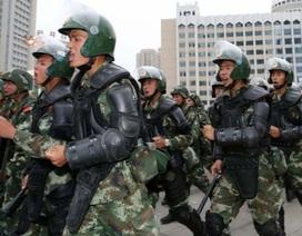 Trung Quốc tập trận lớn tại Tân Cương