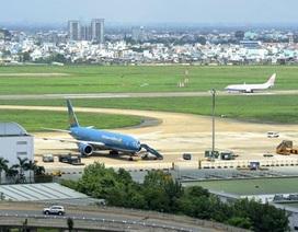 Chính phủ hối thúc việc mở rộng sân bay Tân Sơn Nhất