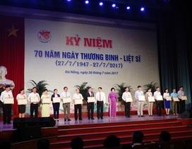 Nhiều địa phương kỷ niệm 70 năm ngày Thương binh liệt sĩ
