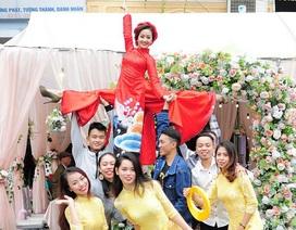 Vợ chưa cưới xinh đẹp của hot boy thể dục Phạm Phước Hưng