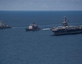 """Hàn Quốc cảm thấy """"bị lừa"""" vì tàu chiến Mỹ không tới bán đảo Triều Tiên"""