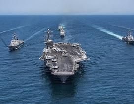 Mỹ điều tàu sân bay thứ 3 đến sát bán đảo Triều Tiên