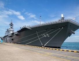 Nhật đưa chiến hạm lớn nhất tới Biển Đông