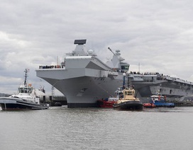 Siêu tàu sân bay của Anh có thể bị hạ gục bởi vũ khí giá rẻ