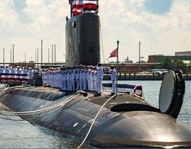 """Mỹ hạ thủy tàu ngầm tàng hình tối tân """"dằn mặt"""" Triều Tiên"""