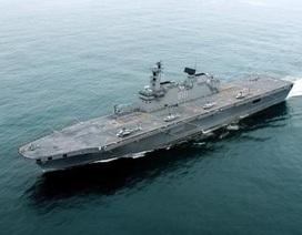 Hàn Quốc hạ thủy tàu đổ bộ trọng tải gần 5.000 tấn
