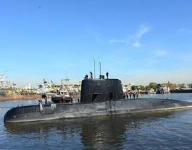 Phát hiện tín hiệu nghi từ tàu ngầm Argentina chở 44 người mất tích