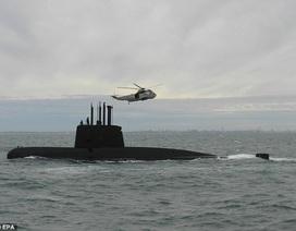 Argentina phát hiện âm thanh nghi từ tàu ngầm chở 44 người mất tích
